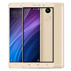 Makibes Film De Protection 0.33mm Compatible Xiaomi Redmi 4 Pro - Or