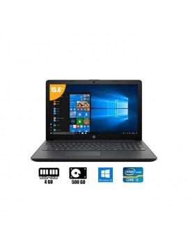 "Hp Ordinateur Portable Intel Core I3 - 15"" - 4Go RAM/ 500Go HDD - Noir - 6 Mois De Garantie"