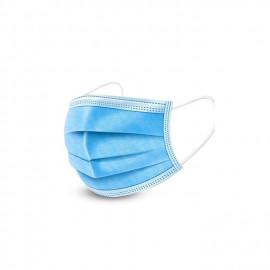 Safe Care Lot De 20 Masque De Protection Anti-transmission Avec Cordes - Bleu