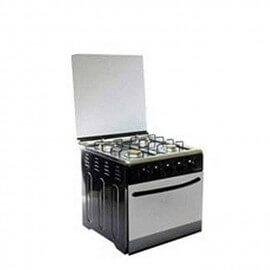 NASCO Gazinière 4 Feux - MSY-40006 - NoirGris - 12 Mois Garantie
