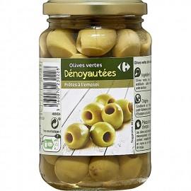 Olives Vertes - Dénoyautées - Prêtes à L'Emploi - 320g