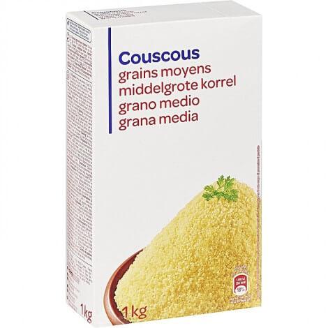 Couscous Grains Moyens - Idéal Pour Desserts - 1Kg
